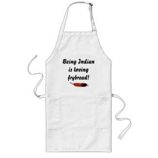 Loving Frybread Long Apron