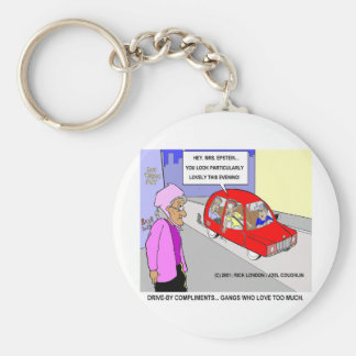Loving Gangs Funny Gifts Tees & Collectibles Basic Round Button Keychain