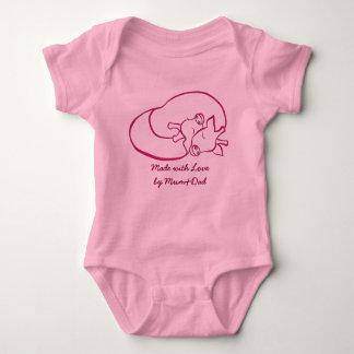 Loving Girrafes Baby Jersey Bodysuit