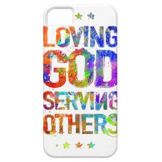 Loving God Serving Others (Phone Case) iPhone SE/5/5s Case