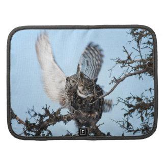 Loving Great Horned Owls Planner
