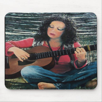 LOVING GUITAR Country Blues Folk Pop Music Mouse Pad