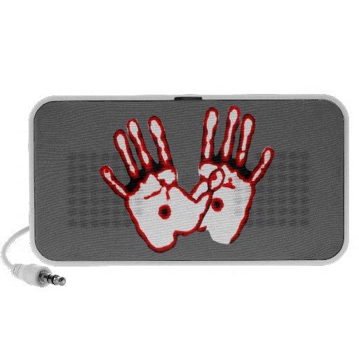 Loving Hands - John 20:27 iPod Speakers