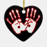 Loving Hands - John 20:27 Ornament