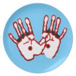 Loving Hands - John 20:27 Plates