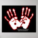 Loving Hands - John 20:27 Posters