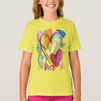 Loving Healing Hearts Art Custom Shirt