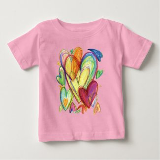 Loving Healing Hearts Art Custom Shirts
