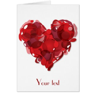 Loving heart cards
