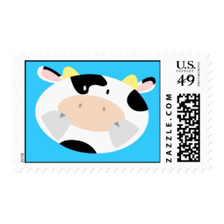 Loving Heart Cow Postage
