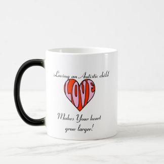 Loving Heart Lefty/Color Changer... Magic Mug