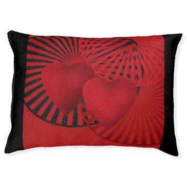 Wedding Themed Loving heart pet bed