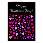 """[ Thumbnail: Loving Hearts Pattern + """"Happy Mother's Day!"""" Card ]"""