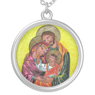 Loving Holy Family Necklace
