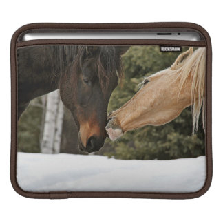 Loving Horses Equine Photo iPad Sleeve