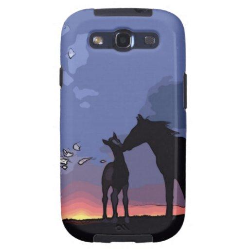 Loving Horses Galaxy S3 Cover