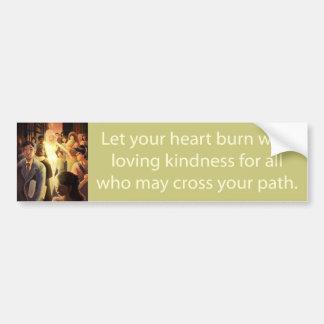 Loving Kindness Bumper Sticker