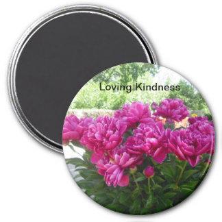 Loving Kindness Peony Magnet
