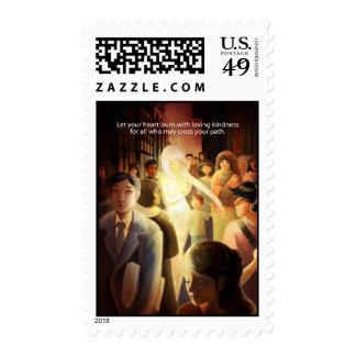 Loving Kindness Postage Stamps