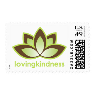 Loving Kindness with Lotus Postage