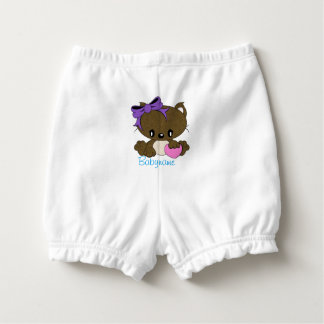 Loving Kitty Personalized Diaper Cover