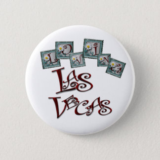Loving Las Vegas Pinback Button