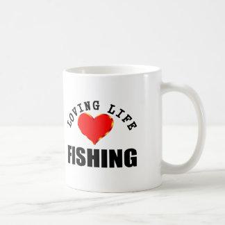 Loving Life Fishing Coffee Mug