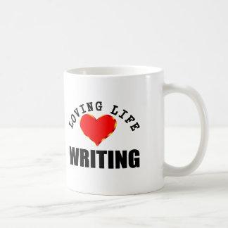 Loving Life Writing Coffee Mug