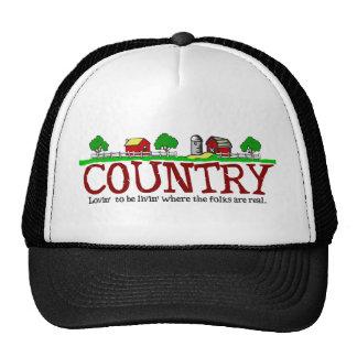 Loving Living Country Trucker Hat