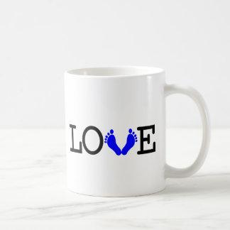 Loving Me Some Babies - Blue Coffee Mug