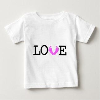 Loving Me Some Babies - Pink Baby T-Shirt