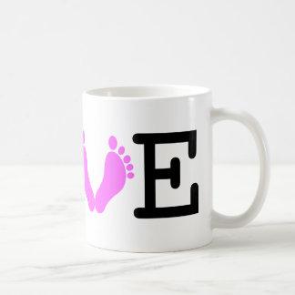 Loving Me Some Babies - Pink Coffee Mug