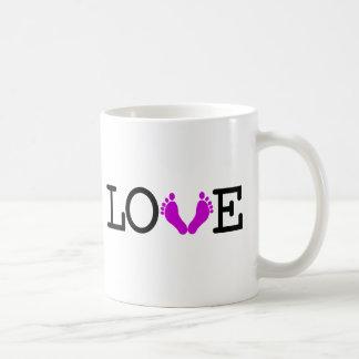 Loving Me Some Babies - Purple Coffee Mug