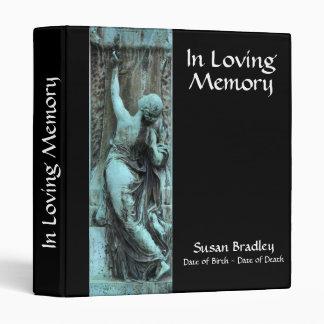 Loving Memory Funerary Art 1 Celebration of Life 3 Ring Binder