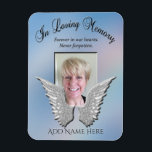 "Loving Memory Memorial Magnet<br><div class=""desc"">A comforting in loving memory memorial gift.</div>"