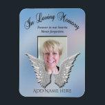 "Loving Memory Memorial Magnet<br><div class=""desc"">A comforting in loving memory memorial gift.</div>"