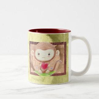Loving Monkey Mug