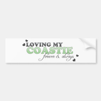 Loving my Coastie Bumper Sticker