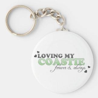 Loving my Coastie Key Chain