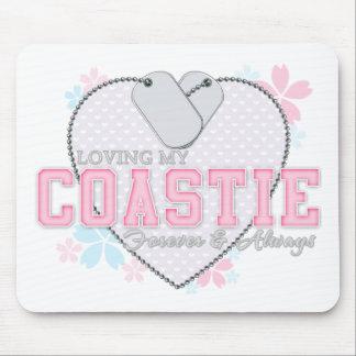 Loving My Coastie Mouse Pad