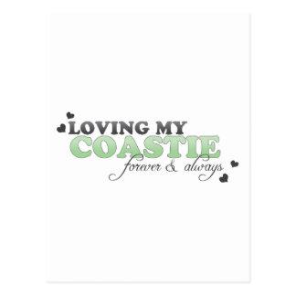 Loving my Coastie Postcard