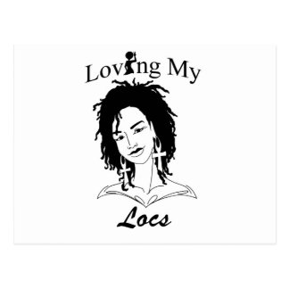 Loving My Locs Postcard