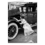 Loving My Old Car, 1920s Cards