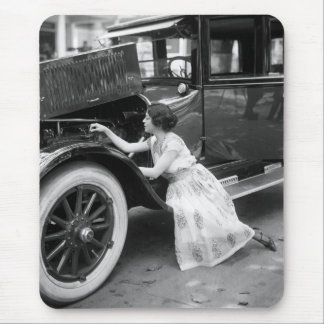 Loving My Old Car, 1920s Mouse Pad
