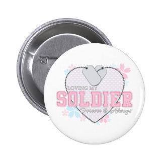 Loving My Soldier Pins
