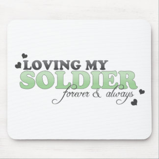 Loving my Soldier Mouse Pad