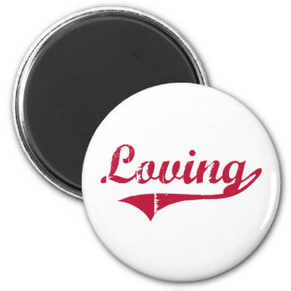 Loving New Mexico Classic Design 2 Inch Round Magnet
