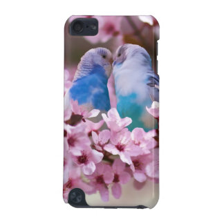 Loving Parakeets in Crabapple Tree iPod Touch 5G Case