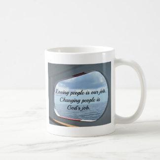 Loving people.... coffee mug
