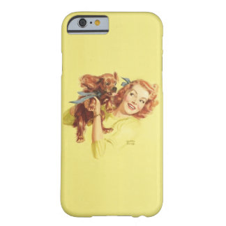 LOVING PUP PIN UP iPhone 6 Case